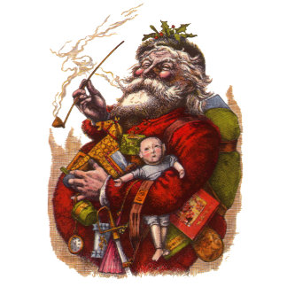 Antique & Victorian Santa Claus