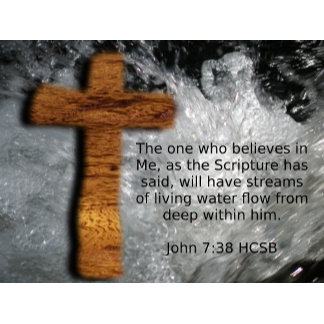 Living Water Cross - John 7:38