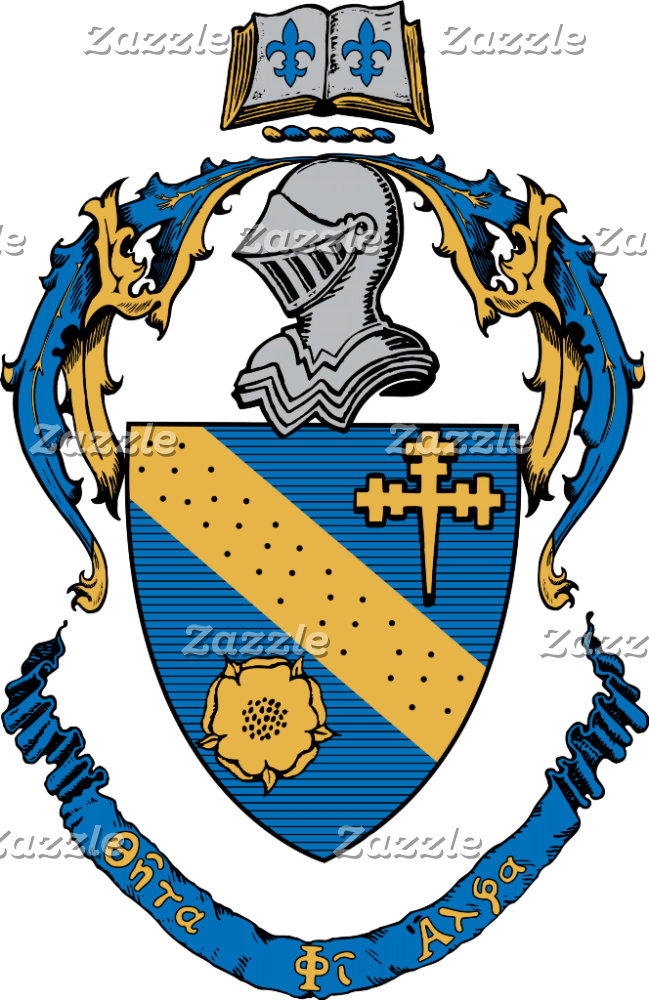 Theta Phi Alpha Coat of Arms