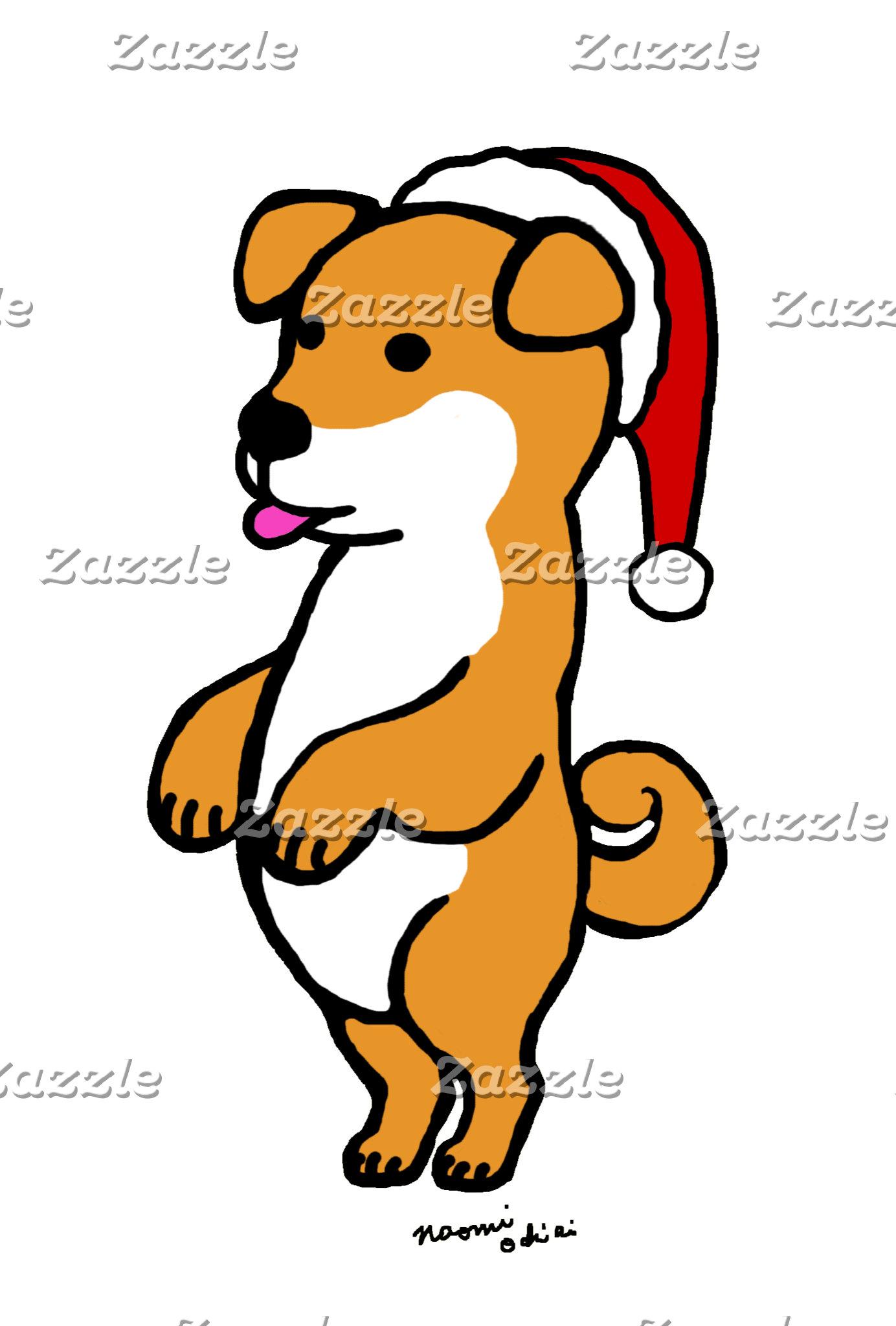 Shiba Inu Christmas