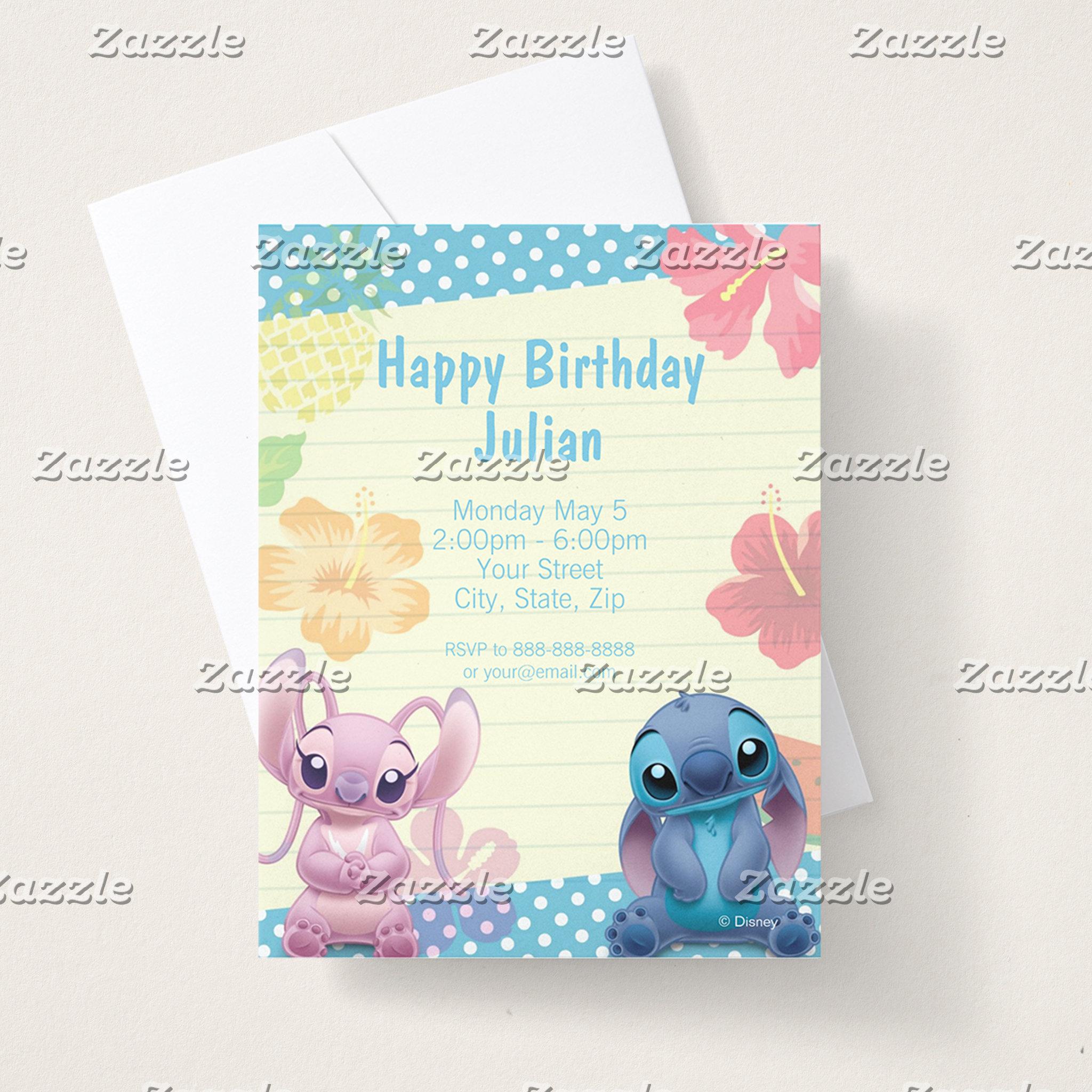 Stitch Birthday