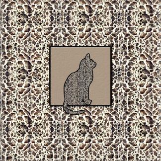 Ocelot Cat Print