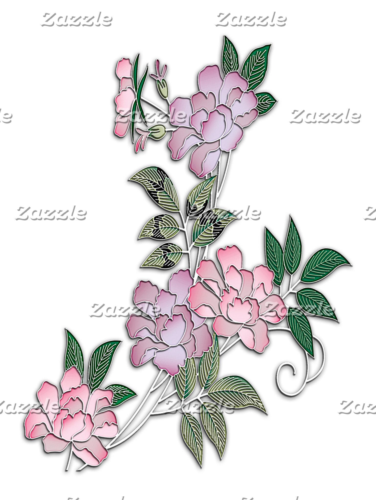 Bouquet of beautiful peonies
