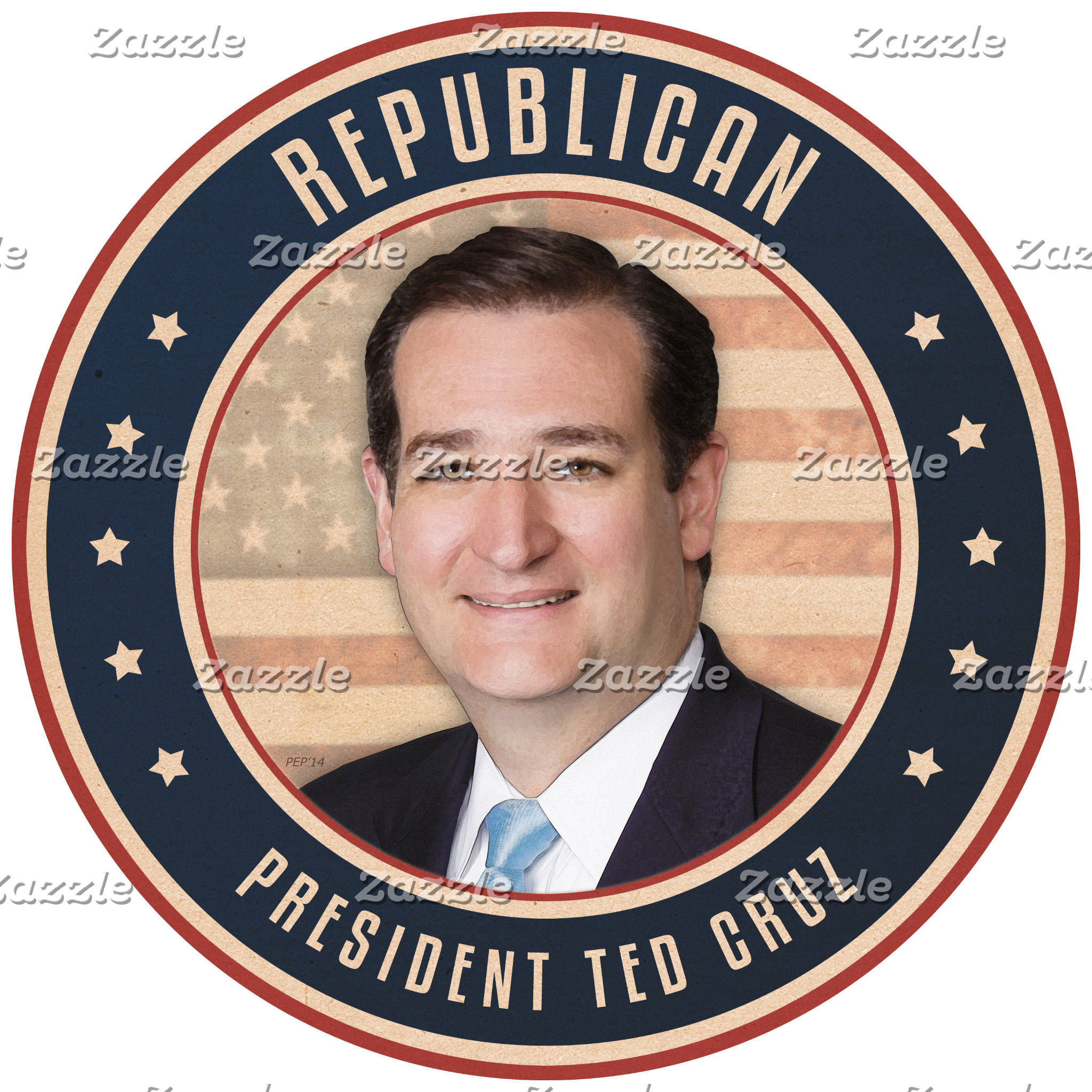 Republican President Ted Cruz