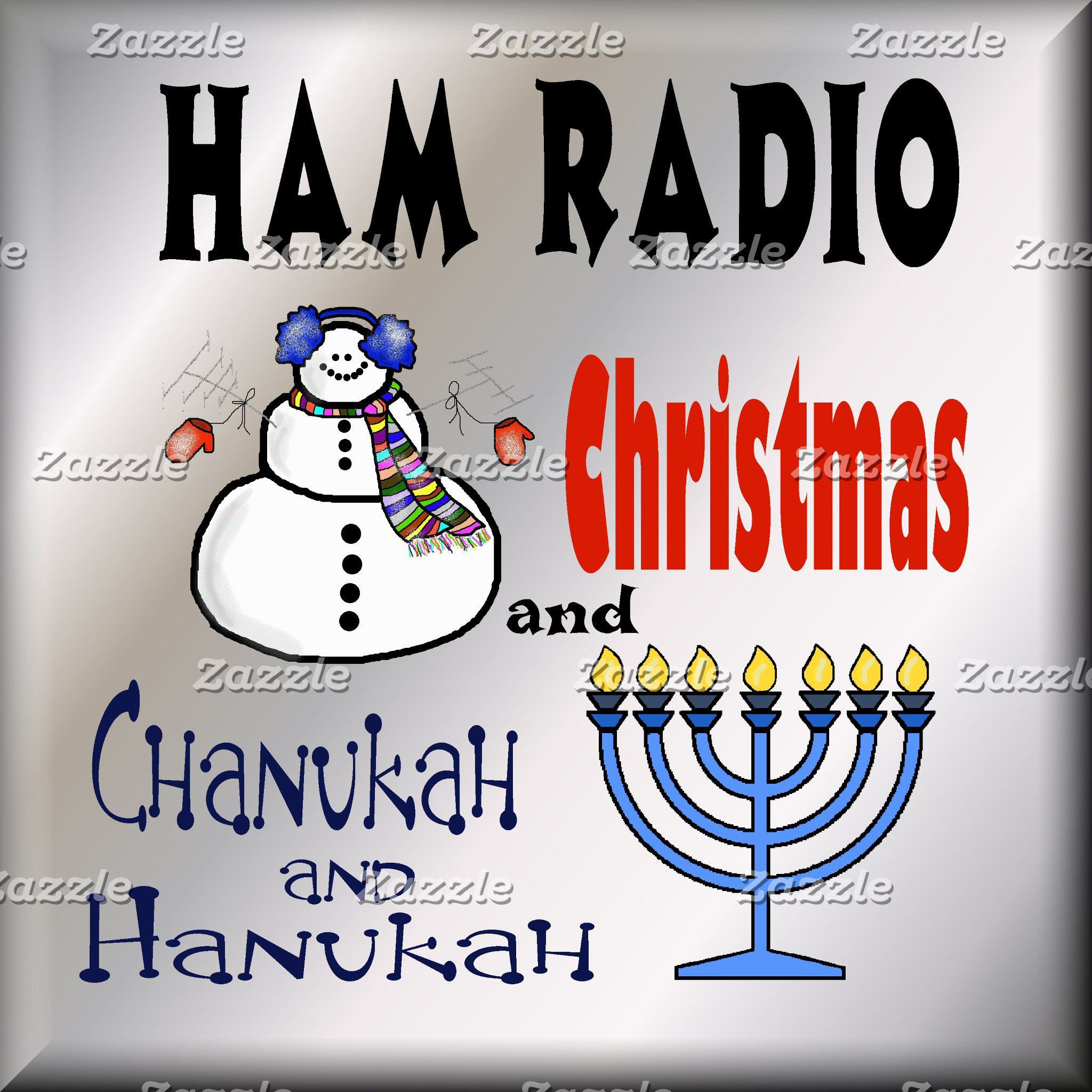 HAM RADIO - Christmas, Chanukah & Hanukah