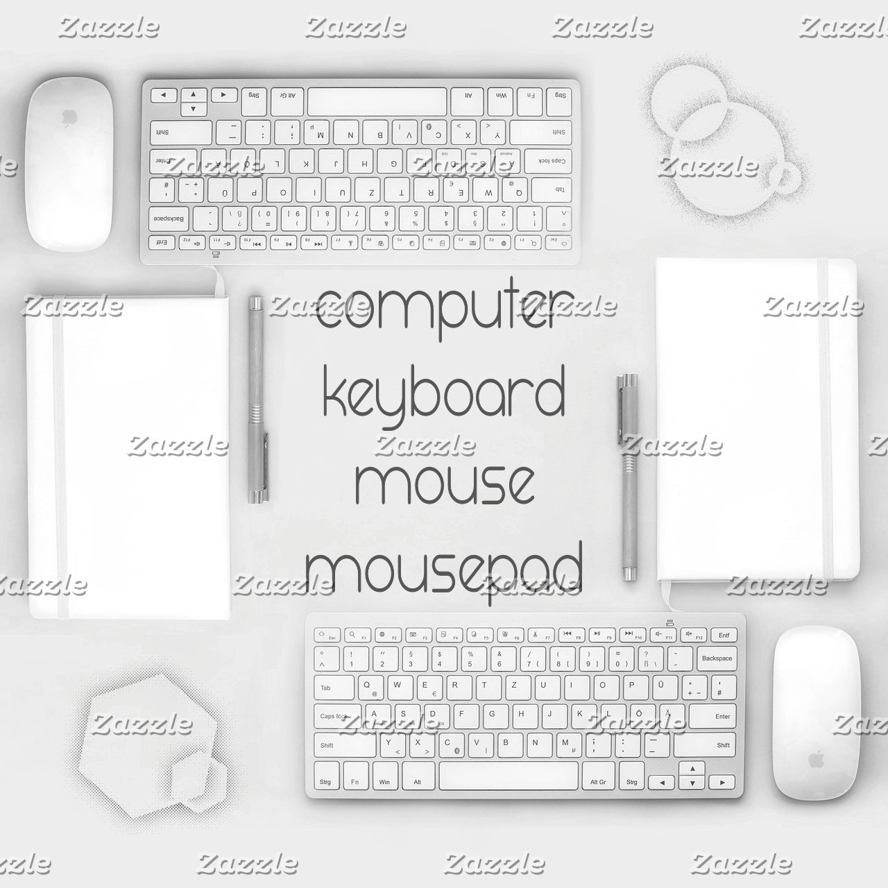 Computer~Mouse,Mouse Pad,Keyboard