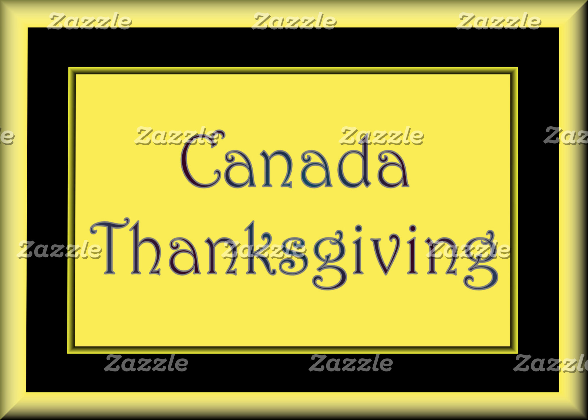 CANADA -  CANADA DAY - THANKSGIVING