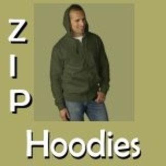 Mens Zip Hoodies