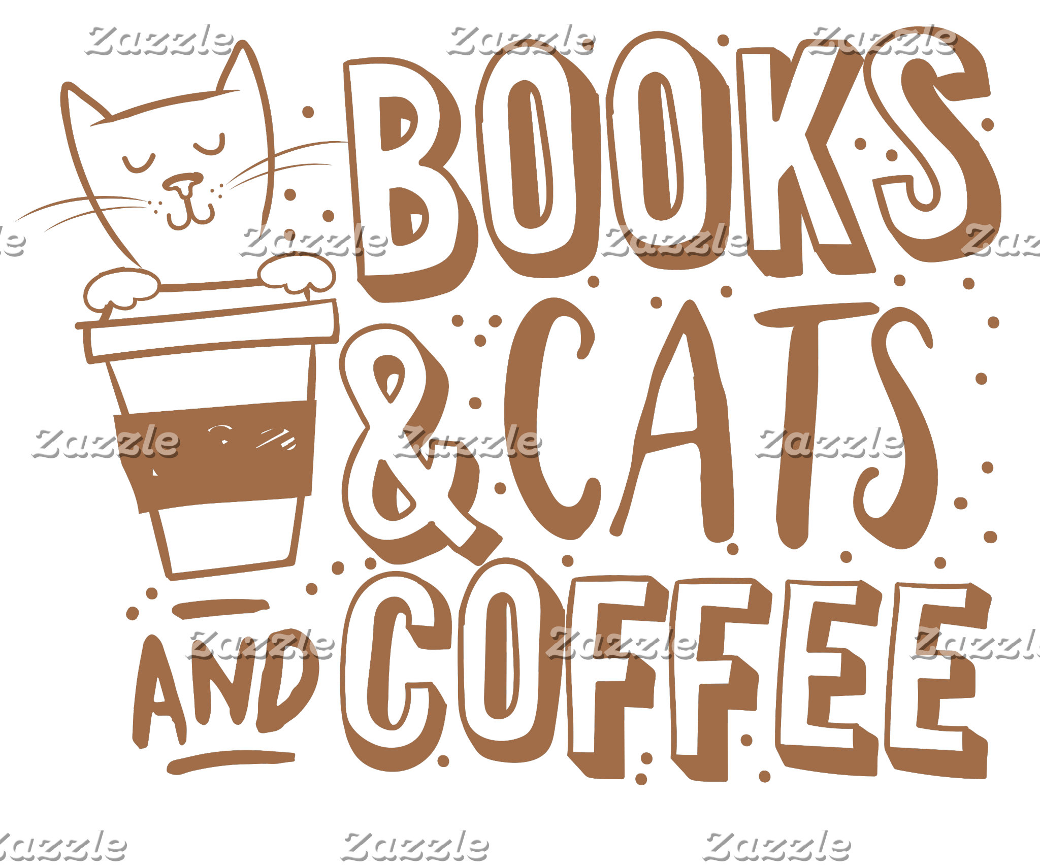 books cats and coffee