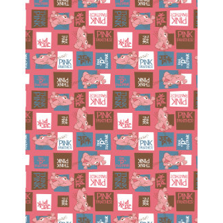 Block Graphic Panther Wallpaper