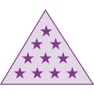 Sigma Pi Pyramid Purple