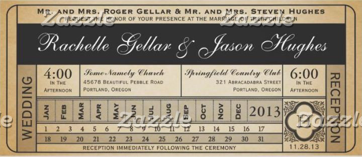 Wedding Ticket Collection III