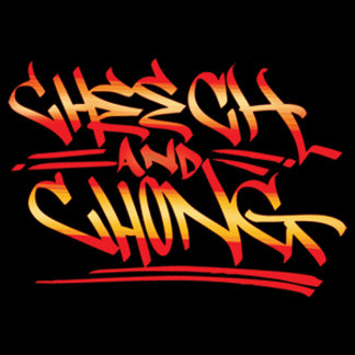 Cheech and Chong Fire Graffiti Logo