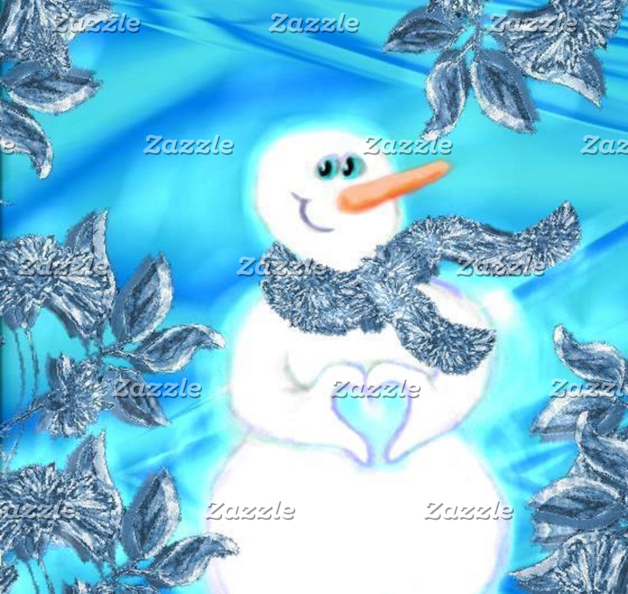 Somebody Loves You Emotional Snowman