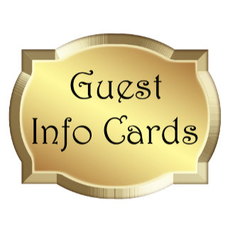Guest Info Cards