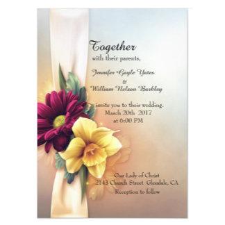 Spring Blooms Wedding Set