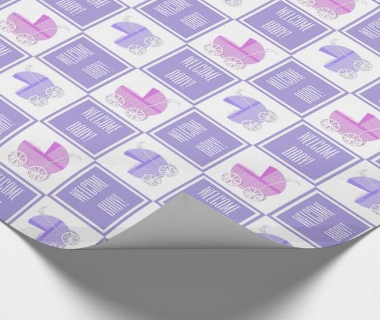 Baby Shower Wrapping Paper
