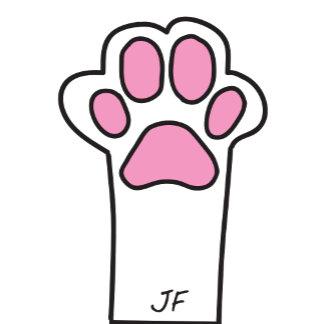 Cat paw
