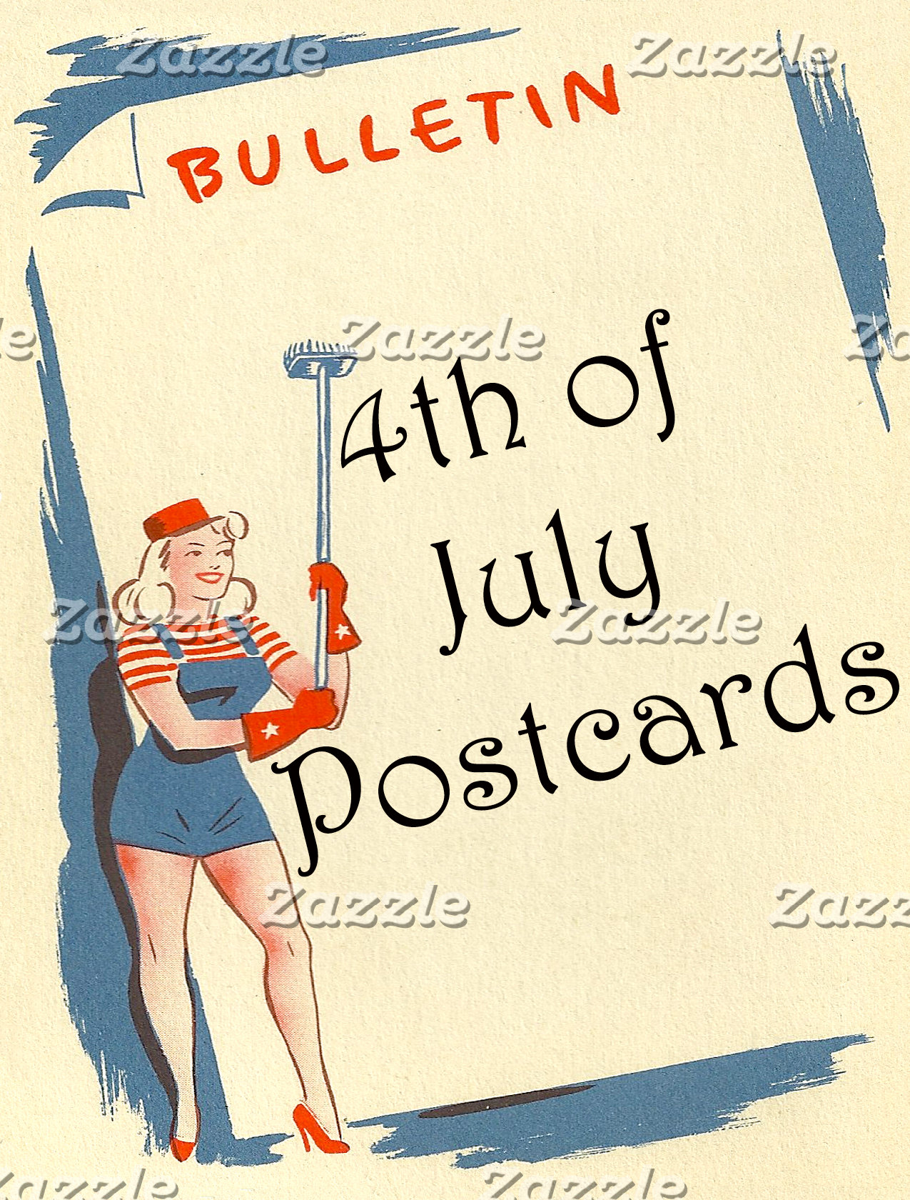 4th Of July Postcards