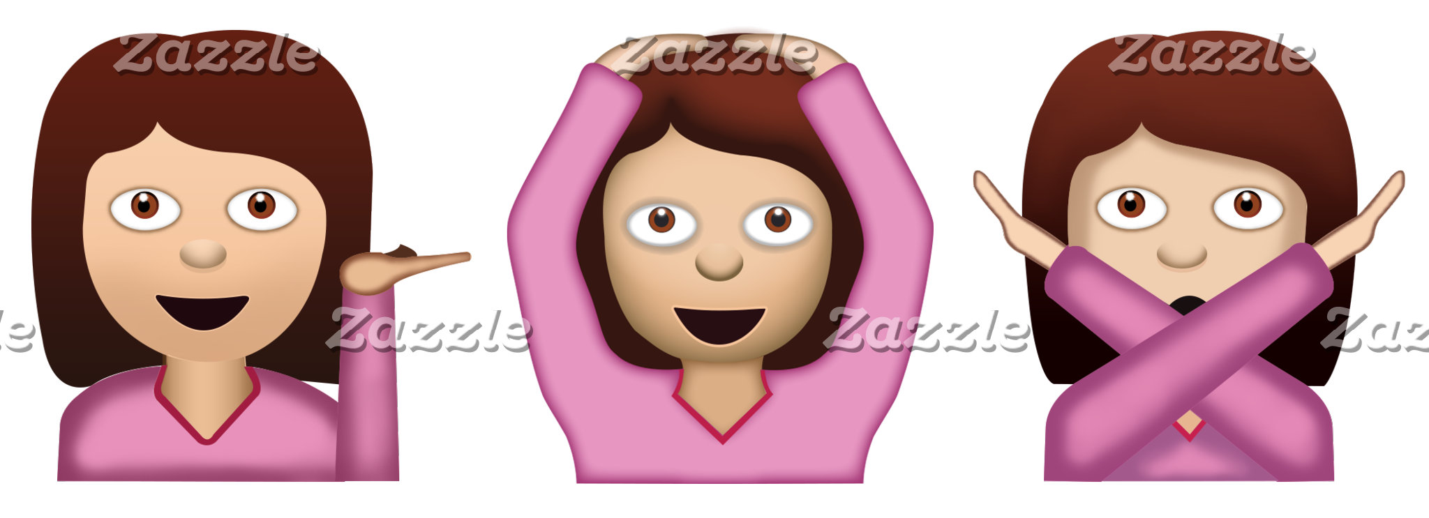 THREE GIRLS EMOJI