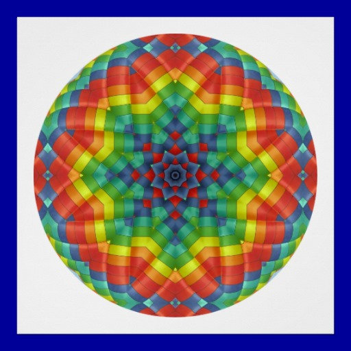 08. Kaleidoscopic Mandala Designs