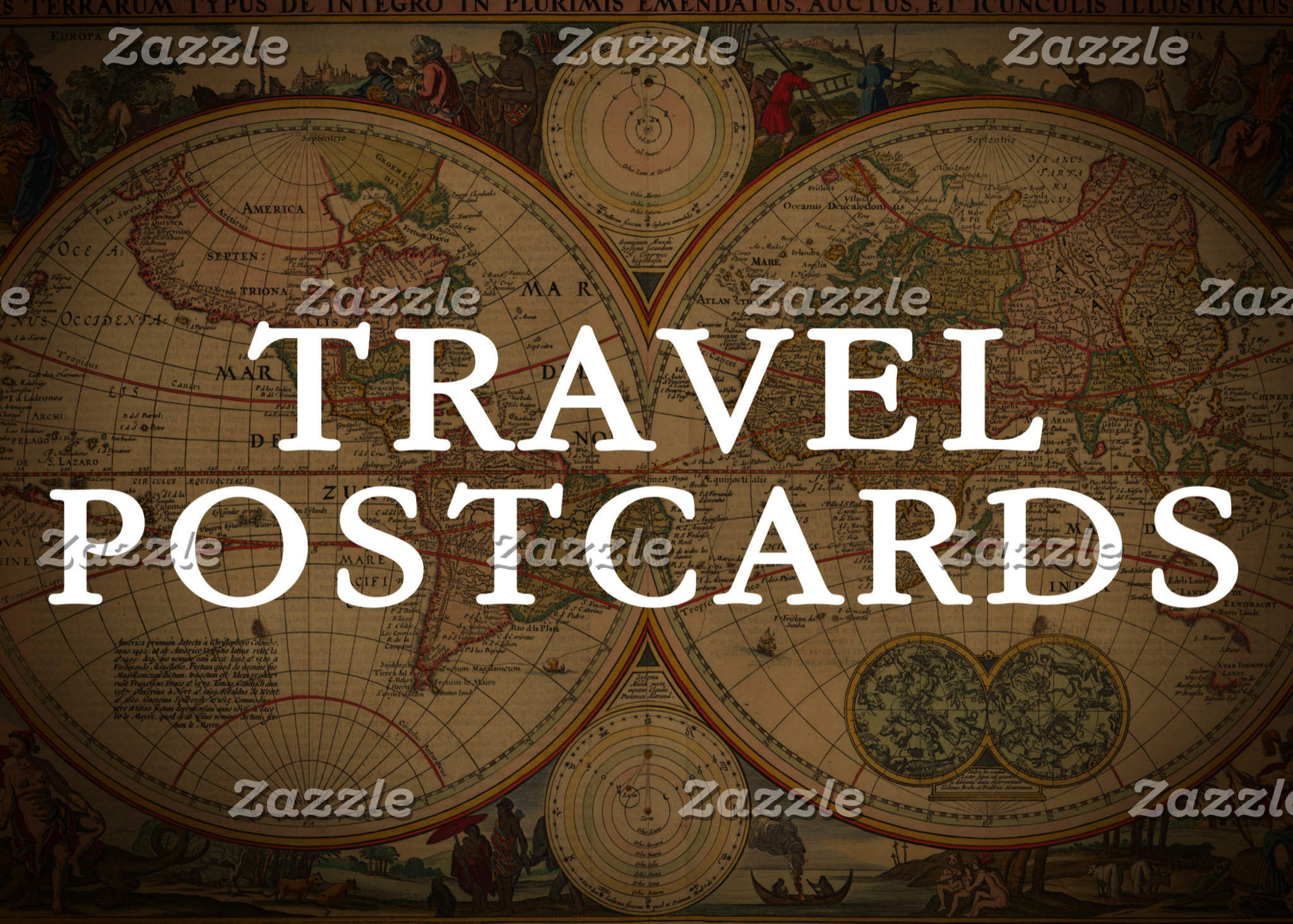 Travel Postcards