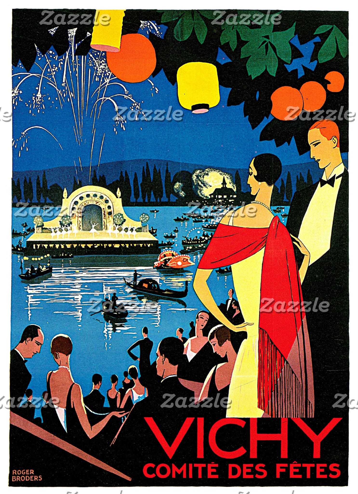 Vintage Advertisement Art Posters