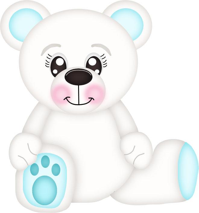 Blue Polar Bear