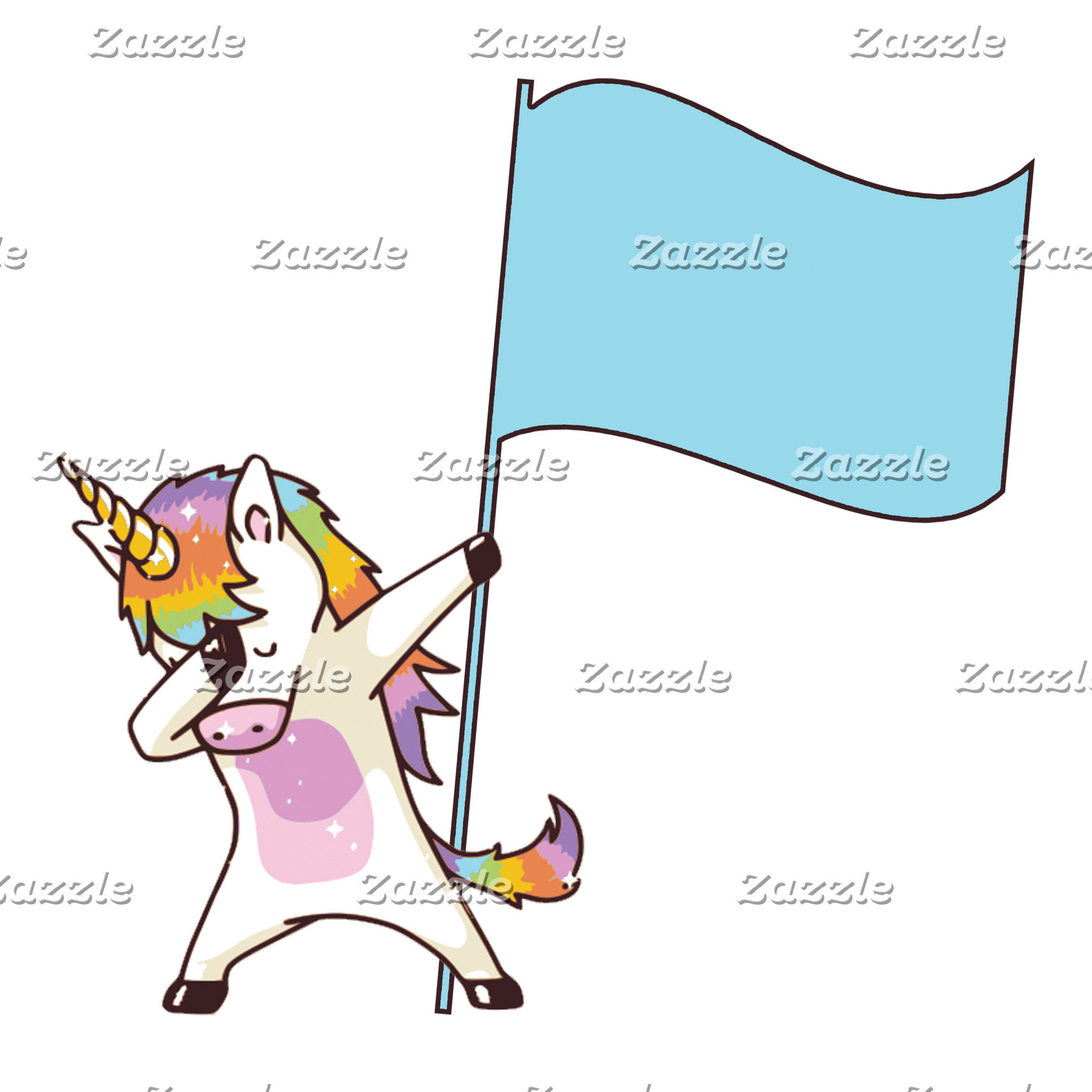 Color Guard Unicorn