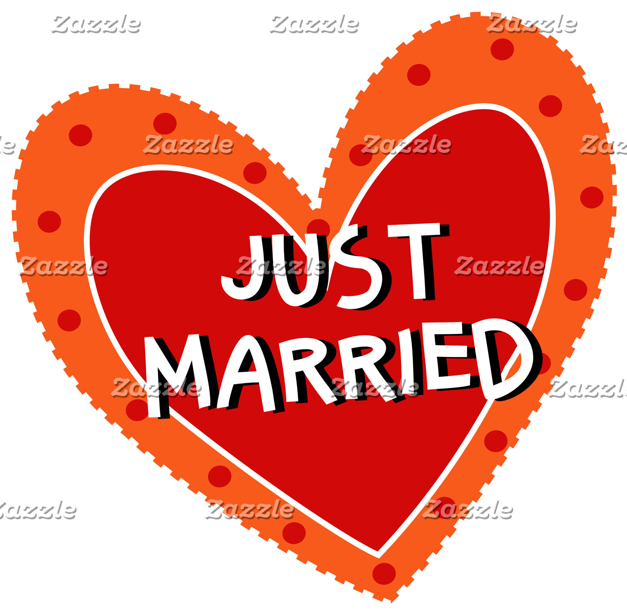 JUST MARRIED Anniversary