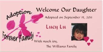 Adoption Cards/Adoption Announcements