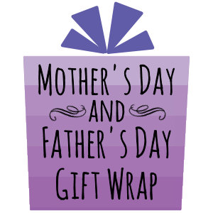 Mother's Day & Father's Day Gift Wrap