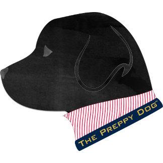 Preppy Black Lab Silhouette