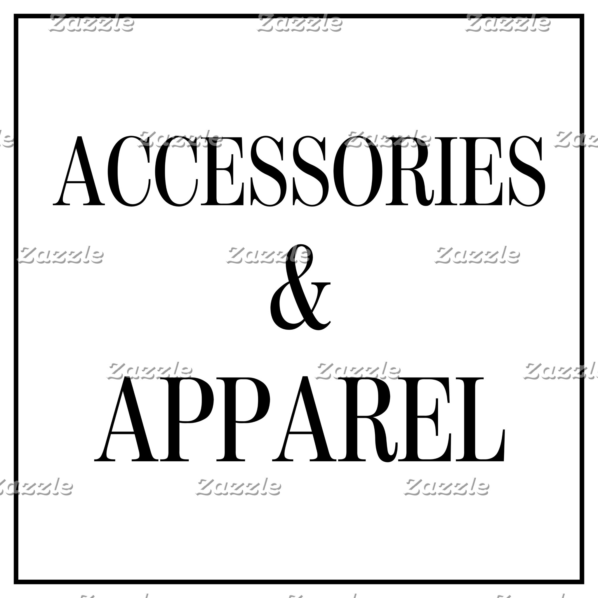 Accessories & Apparel