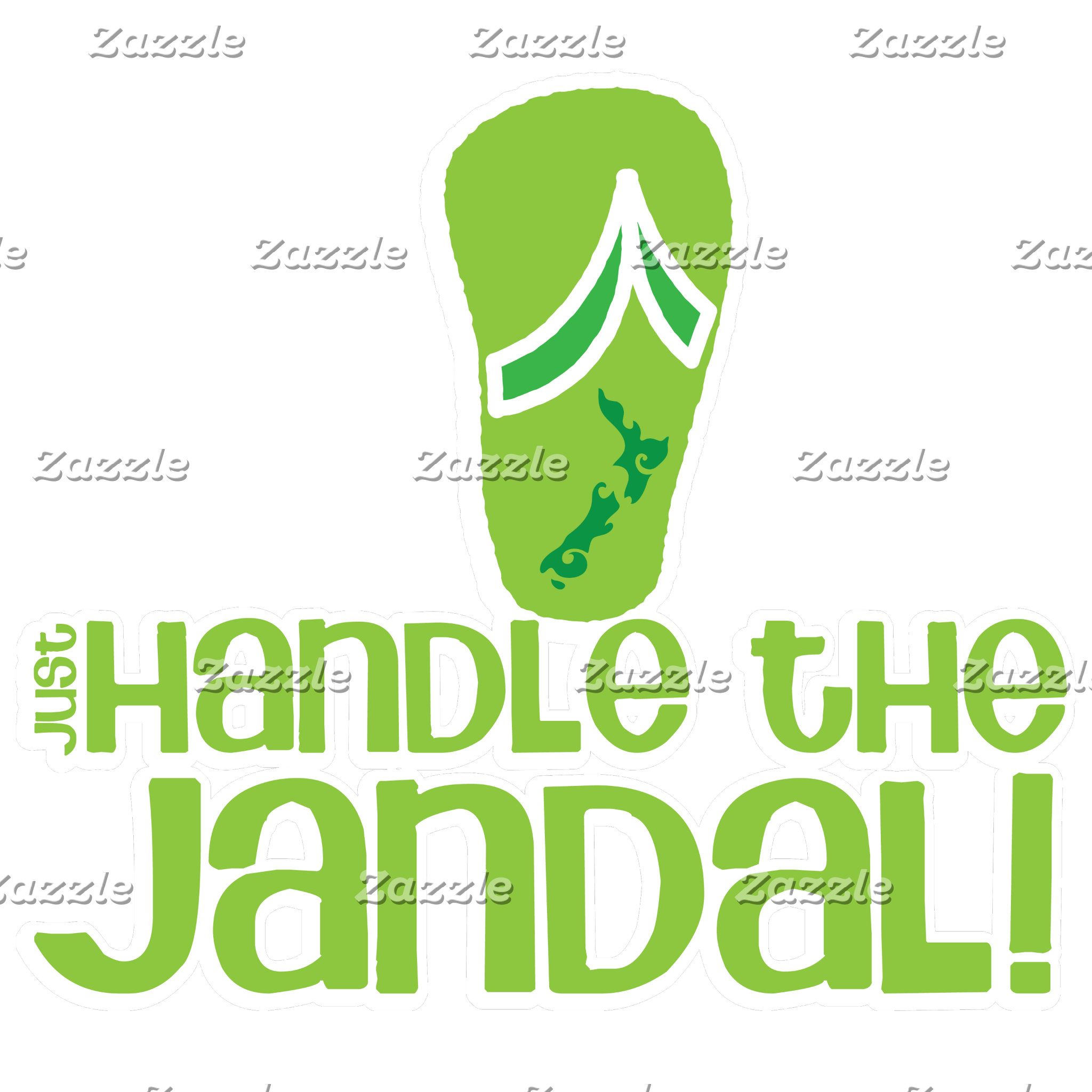 just handle the jandal!