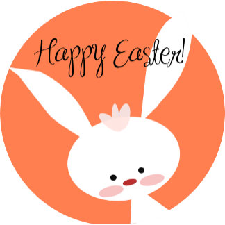 Easter Bunny - Orange
