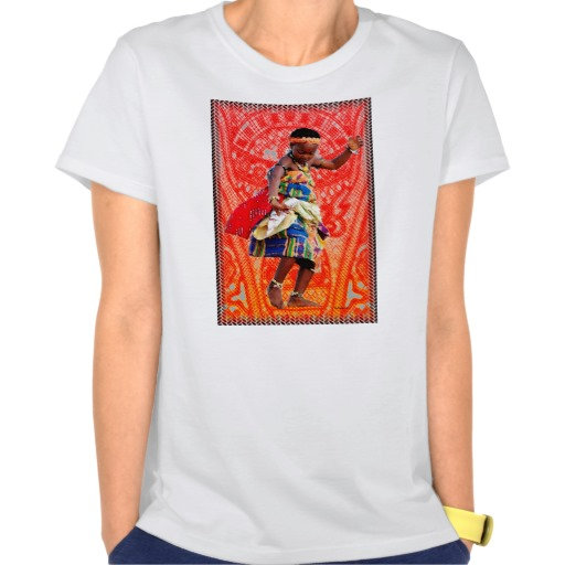 Female African Pop Art and More T-Shirts