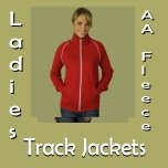 Ladies AA Fleece Track Jackets