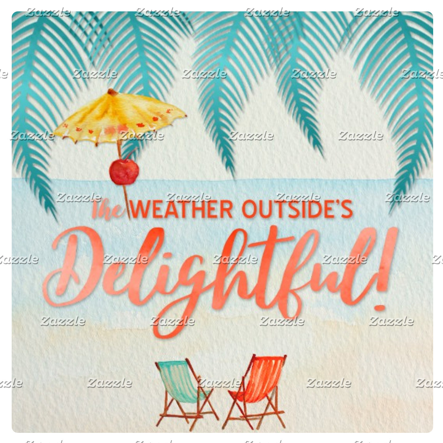 Tropical Holiday Weather Outside's Delightful!