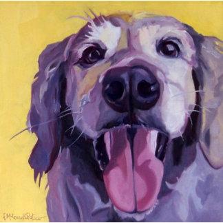 Golden Retriever Dog Art