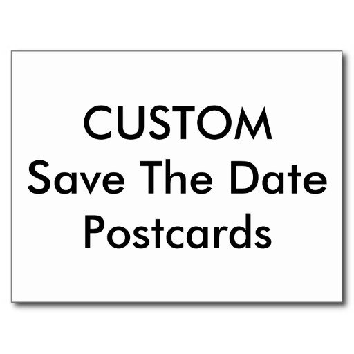 Save The Date Postcards & Magnets