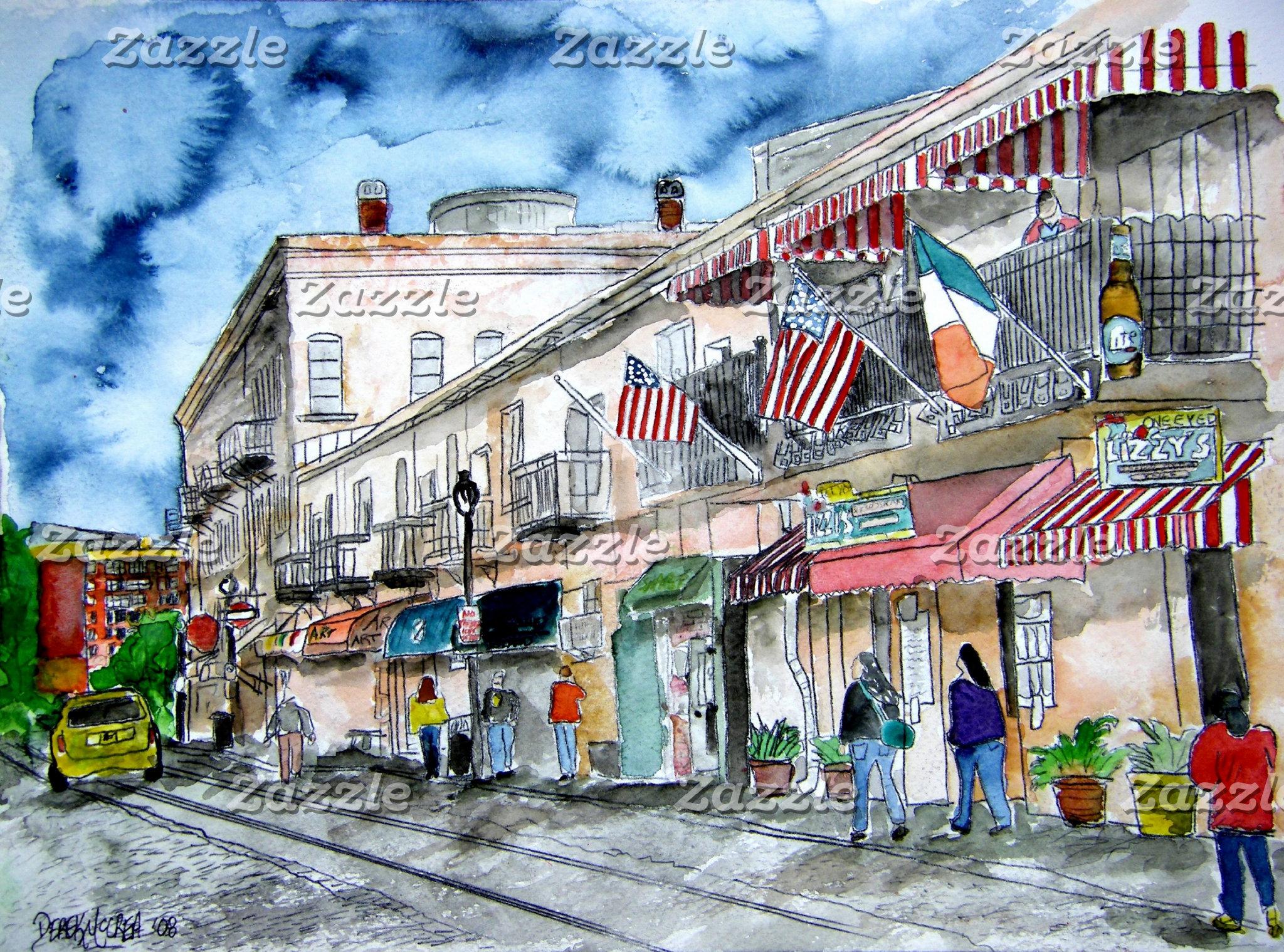 Cityscape Art Prints