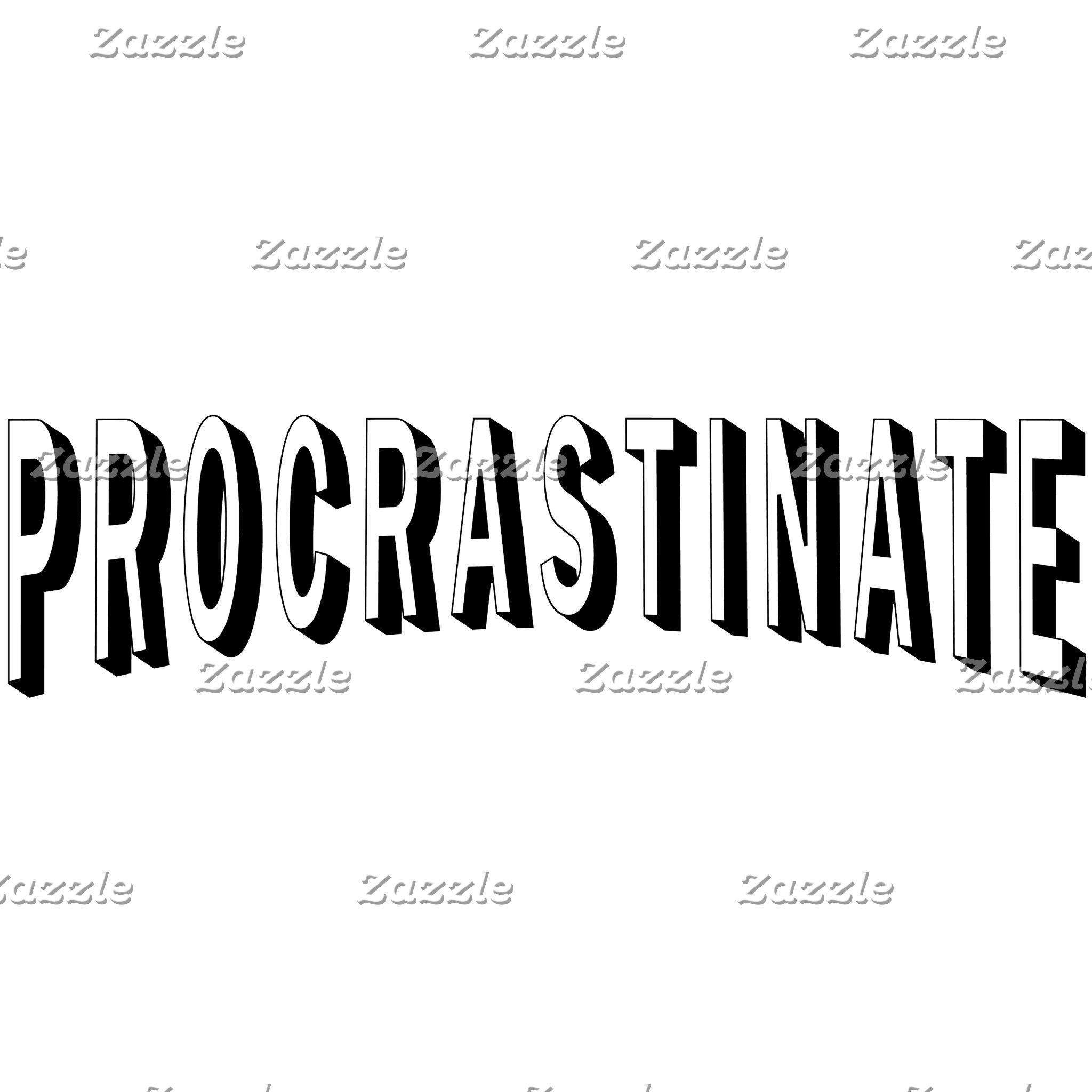 Procrastinate Parody Logo