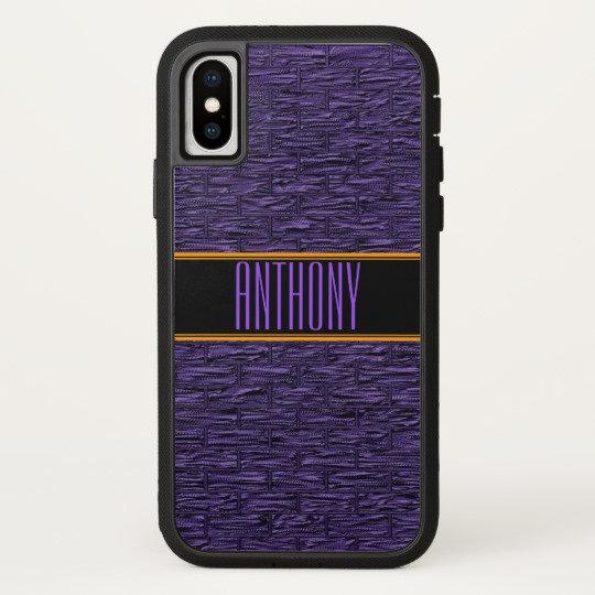 Brick Motif Monogram Phone Cases