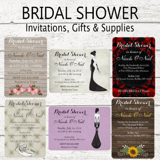 Shower Invitations and Gifts