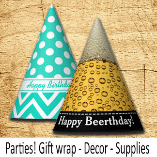 Party Supplies Decor and Giftwrap