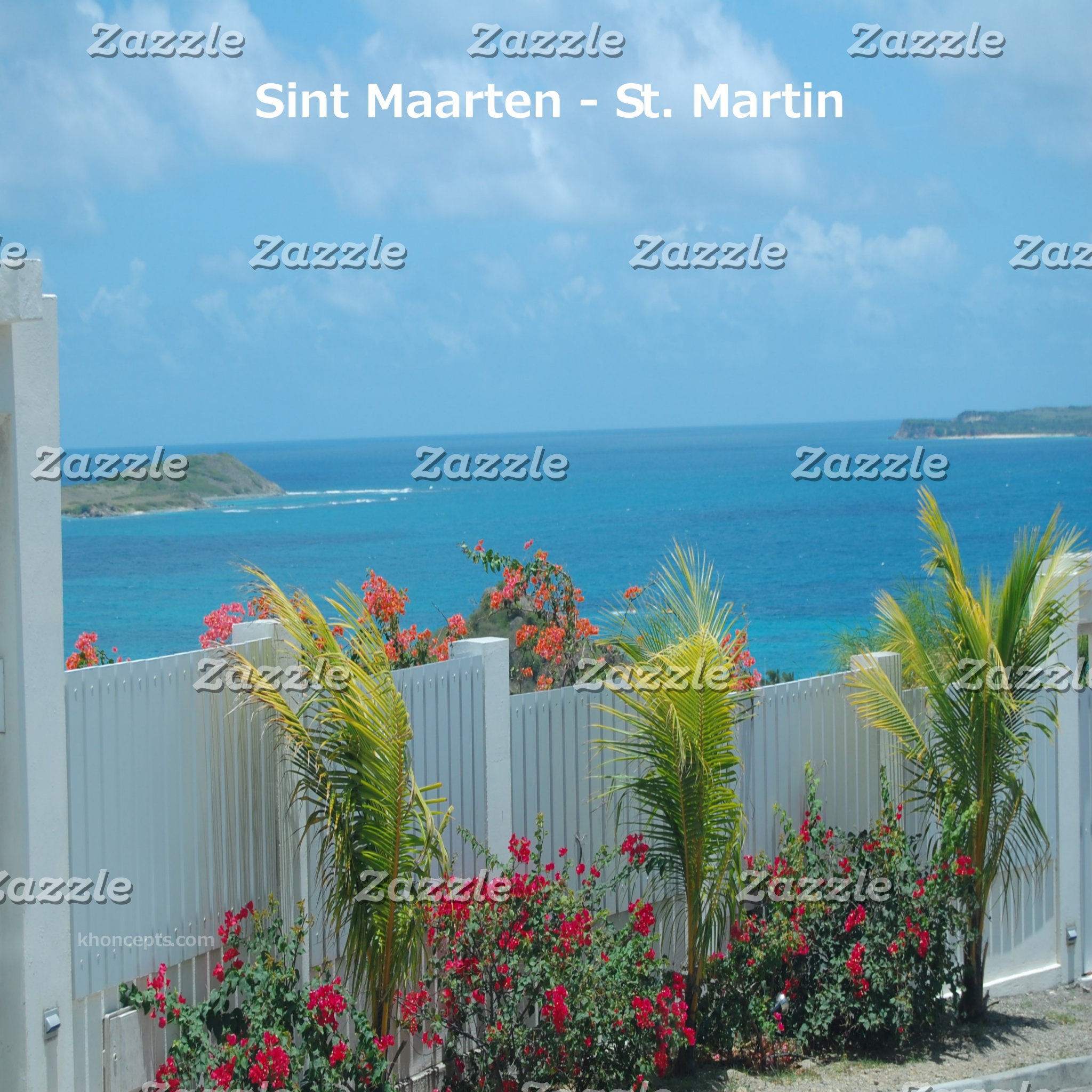 Sint Maarten-St. Martin White Picket Fence Photo