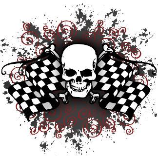 Checkered Skull