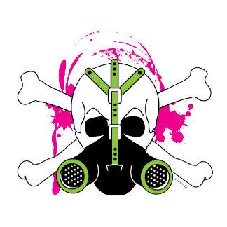 Gas Mask Skull & Crossbones