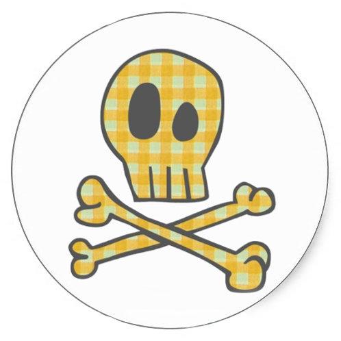 Gingham Skulls